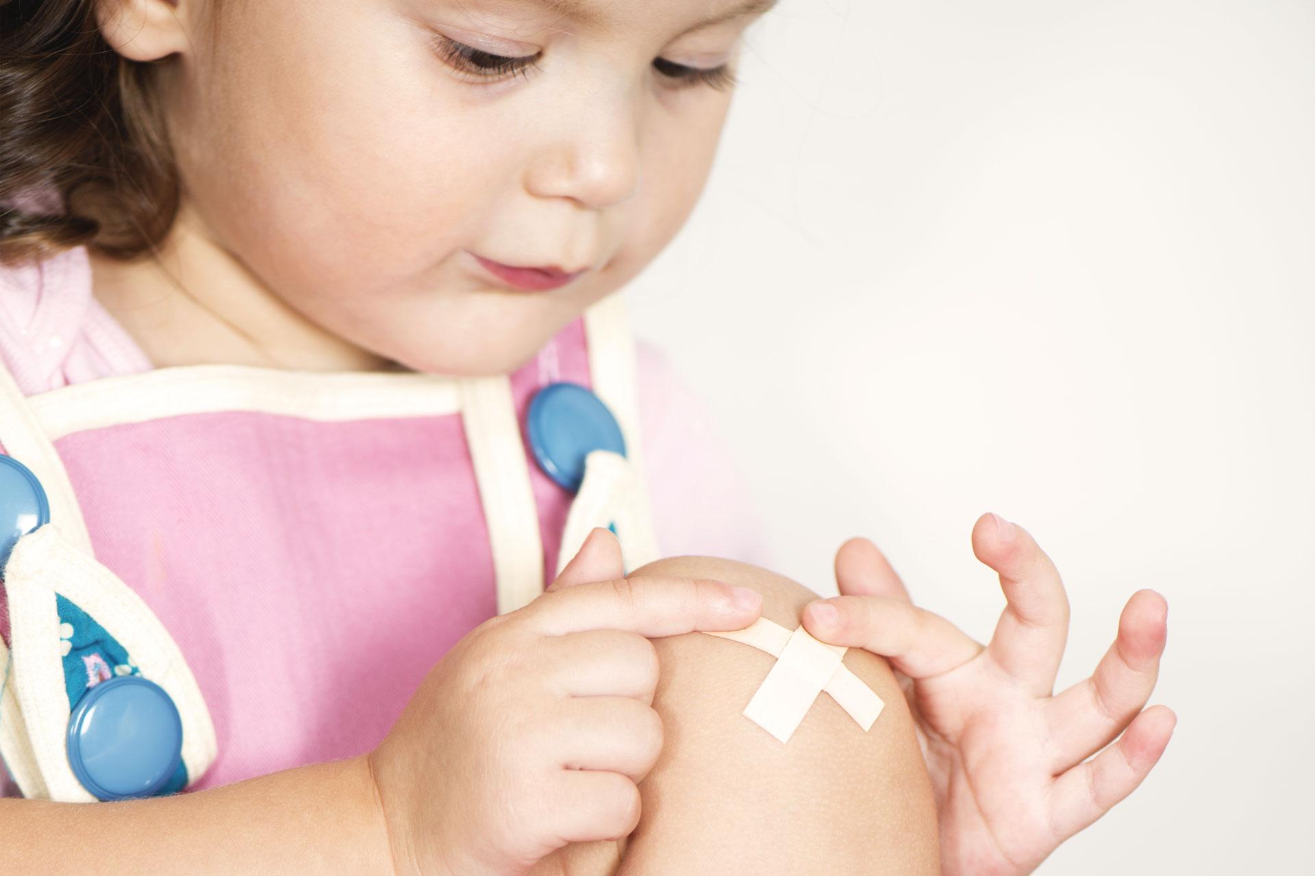 Erste Hilfe für Babys und Kleinkinder