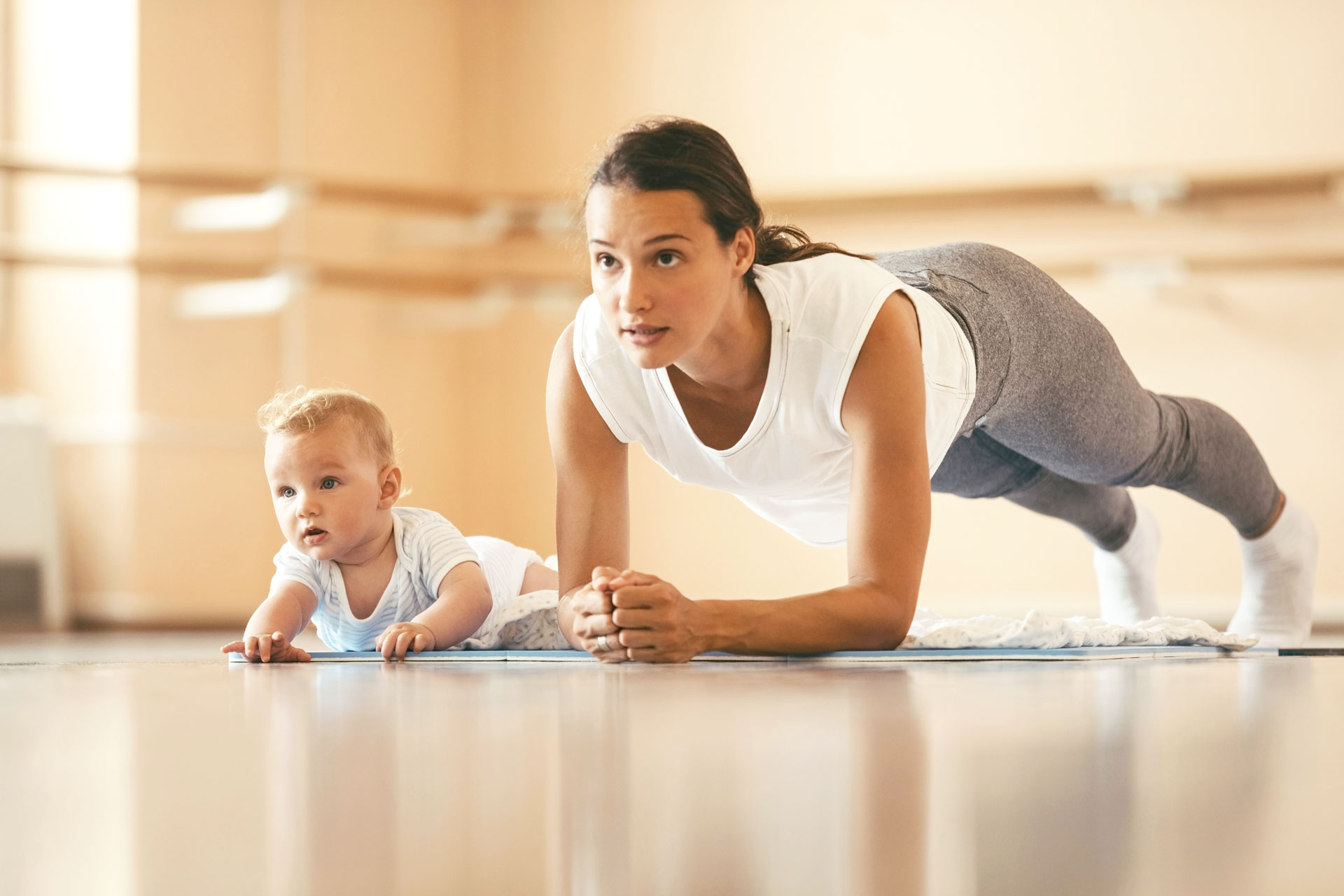 Rückenfit für Mütter